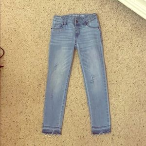 Girls Straight Cut Jeans